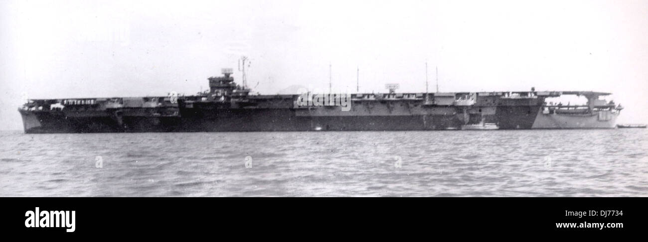 Amagi, aircraft carrier of the Imperial Japanese Navy built during