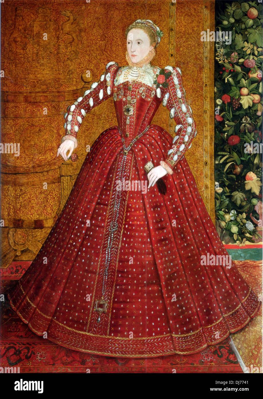 Queen Elizabeth I of England - Stock Image