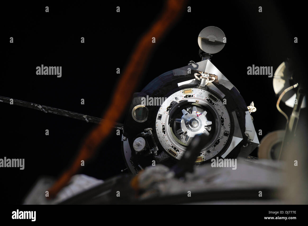 Soyuz TMA-08M spacecraft - Stock Image