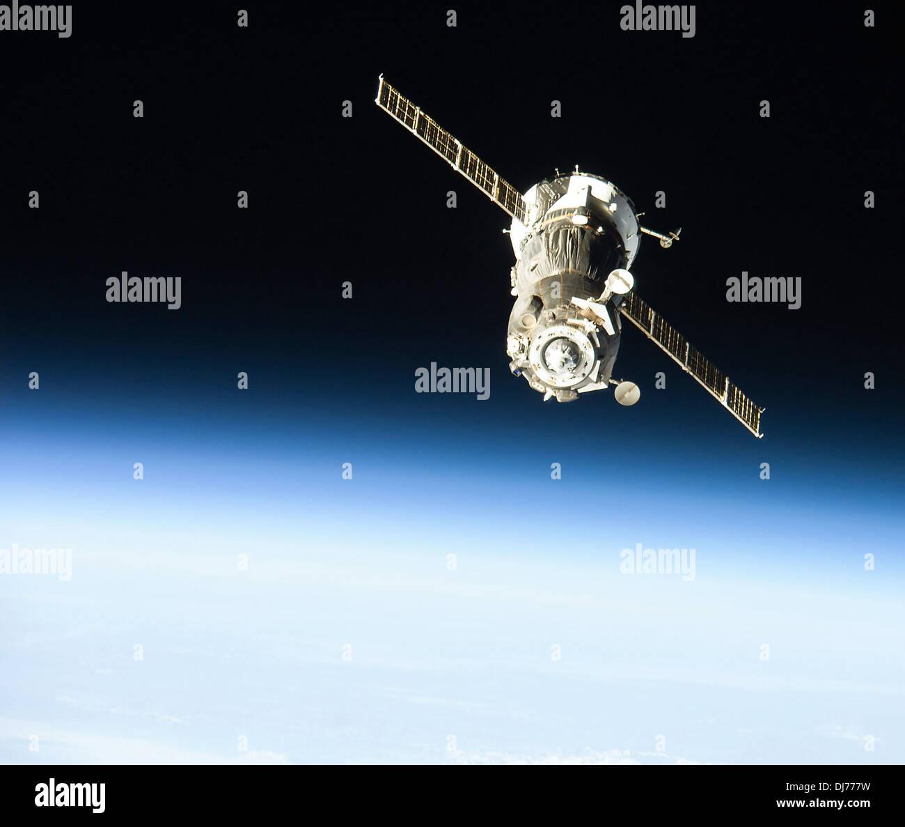 Soyuz TMA-09M spacecraft - Stock Image