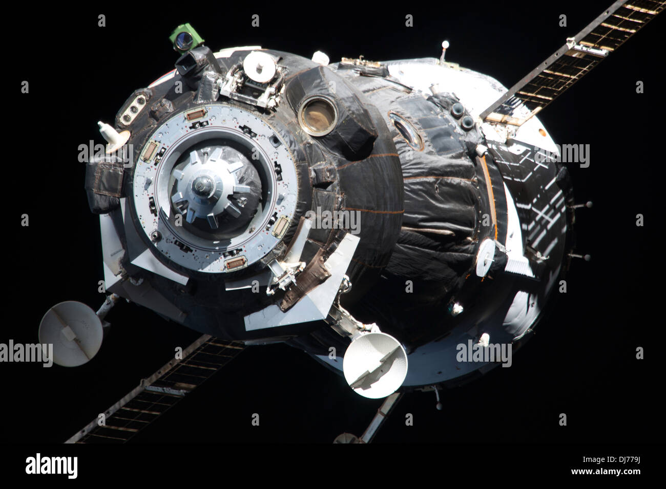 Soyuz TMA-09M spacecraft - Stock Image