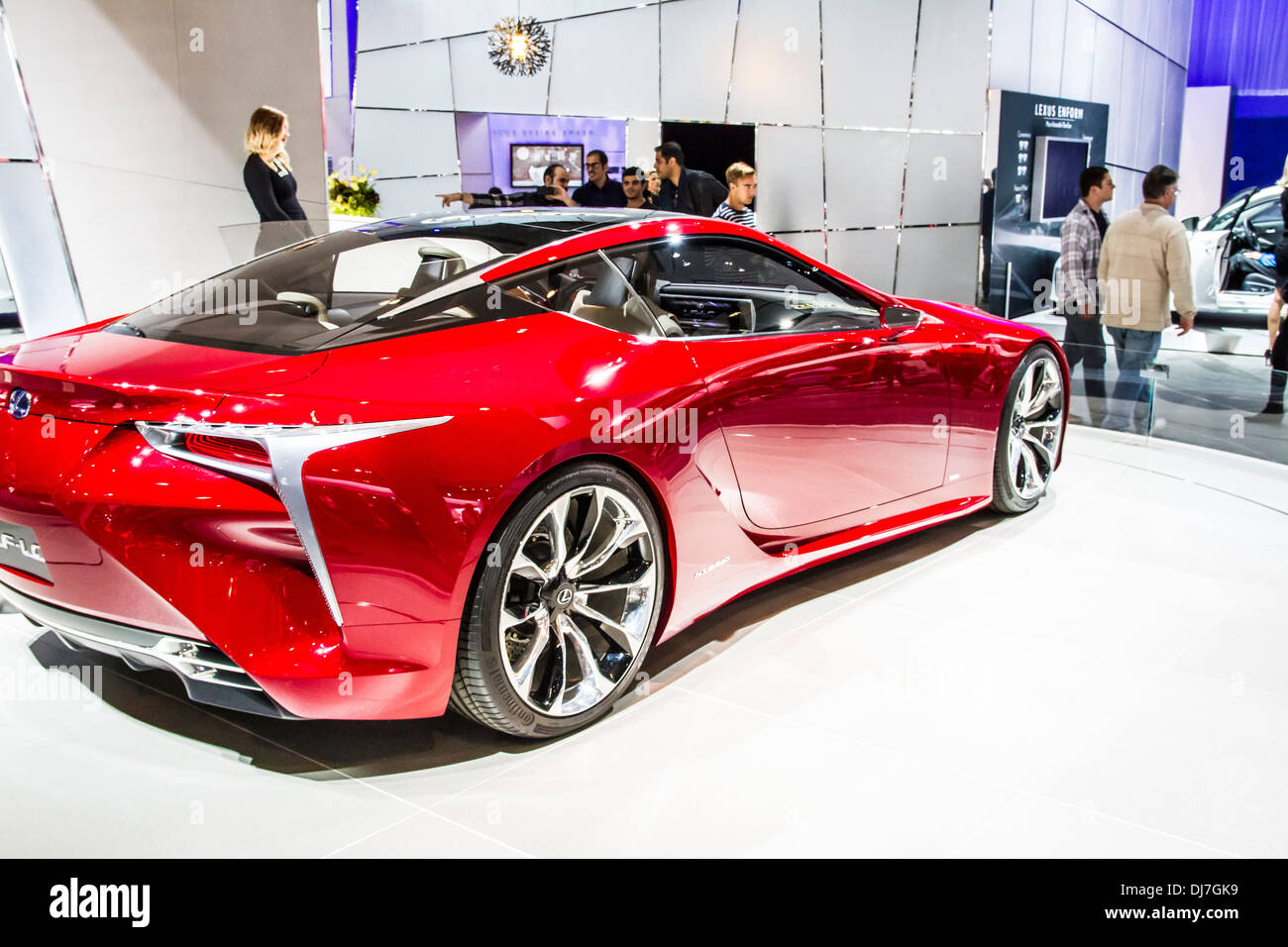 The Lexus LF LC At The 2013 Los Angeles International Auto Show   Stock  Image