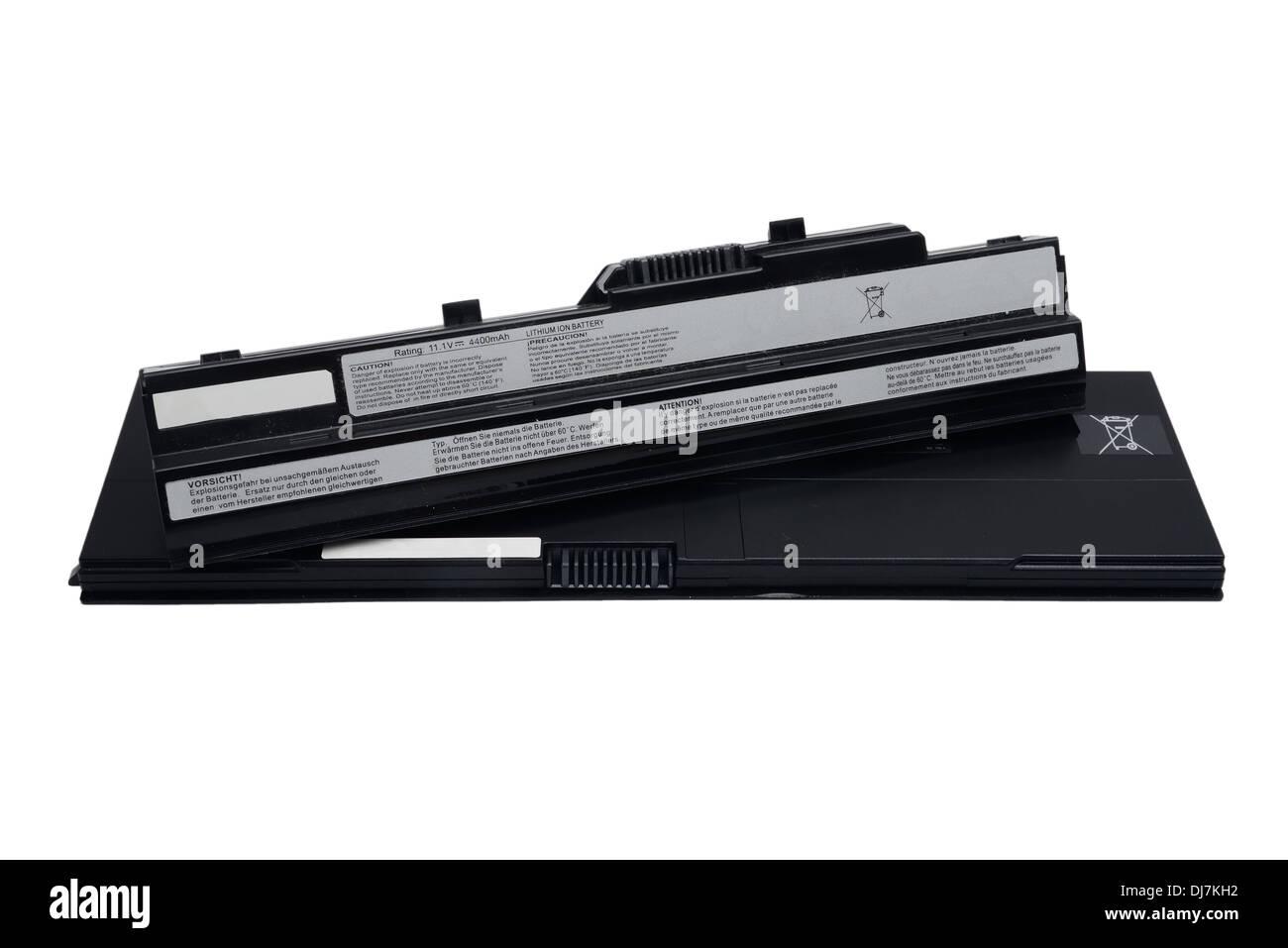 laptop battery - Stock Image