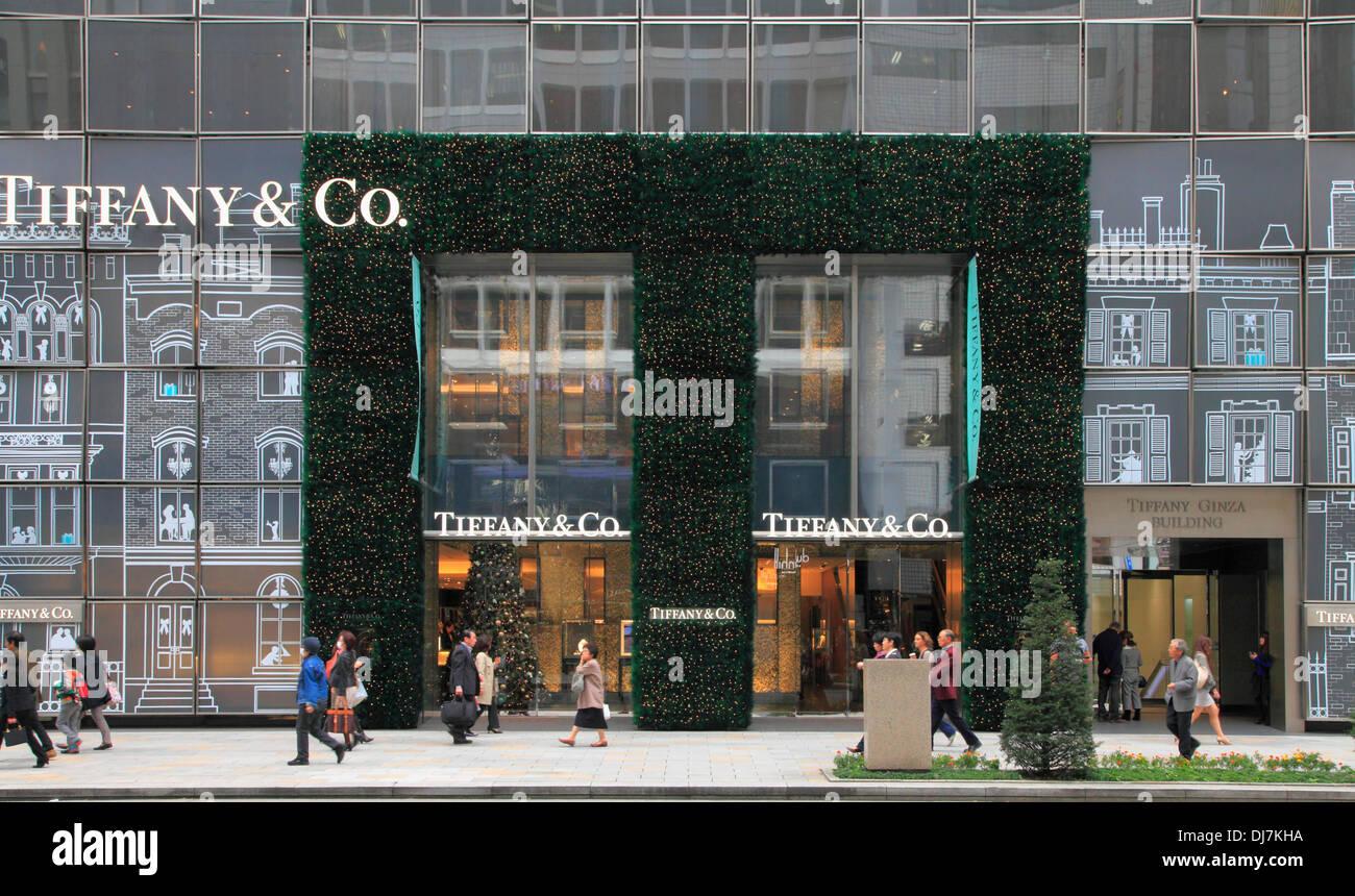 8bb557872 Japan, Tokyo, Ginza, Tiffany Store Stock Photo: 62863958 - Alamy