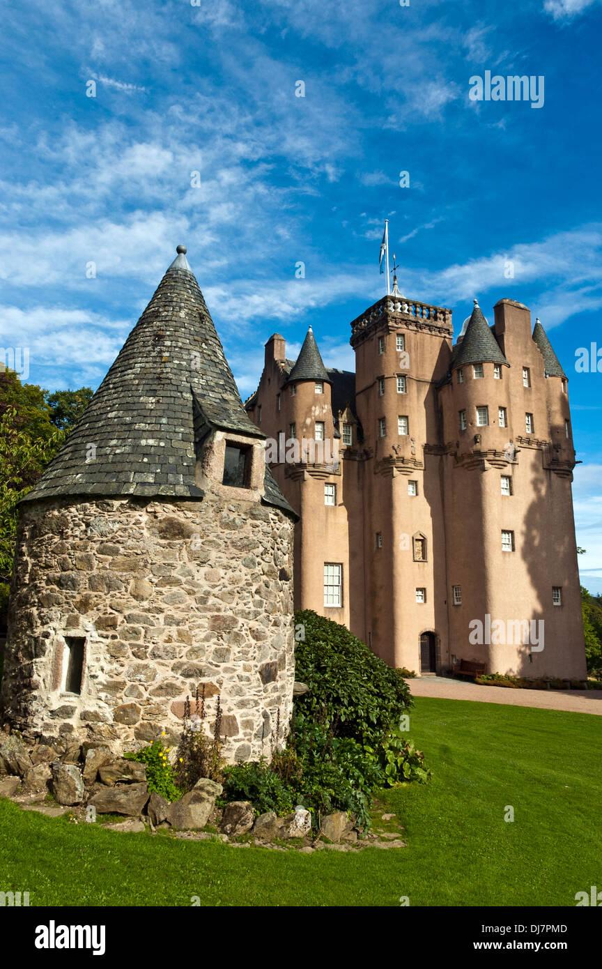 Craigievar Castle, Aberdeenshire, Scotland - Stock Image