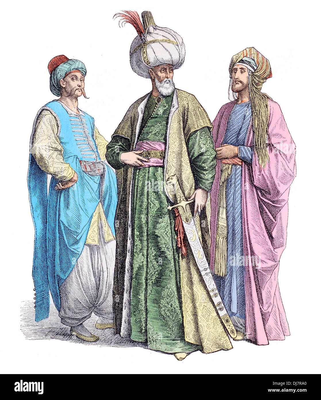 Ottoman Clothes Stock Photos Ottoman Clothes Stock Images Alamy