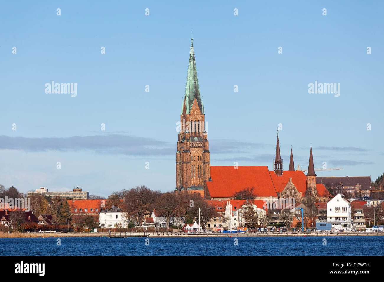 Cathedral St. Petri in Schleswig, Germany - Stock Image