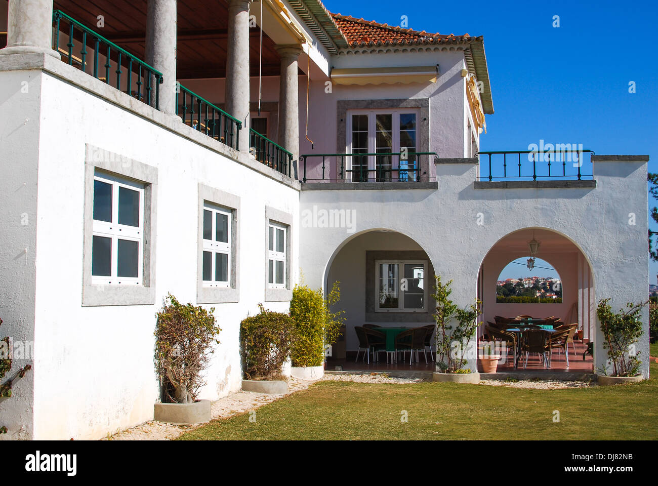 Estoril Golf clubhouse Portugal - Stock Image