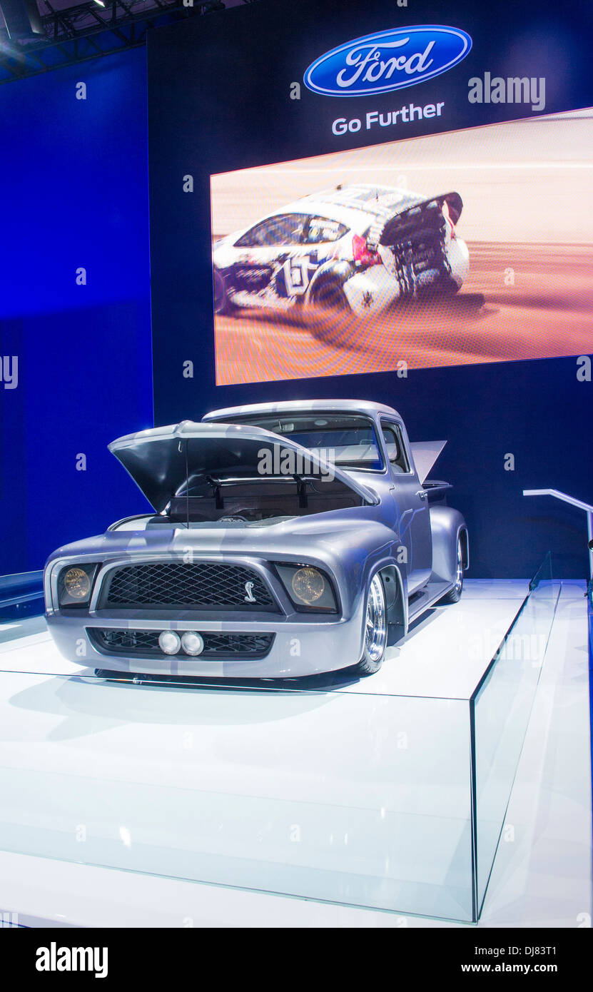 Ford Dealership Las Vegas >> Ford Vintage Car At The Sema Show In Las Vegas Navada Stock