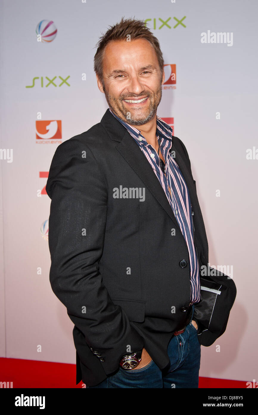 Bernhard Kuhnt at the upfronts for German TV stations