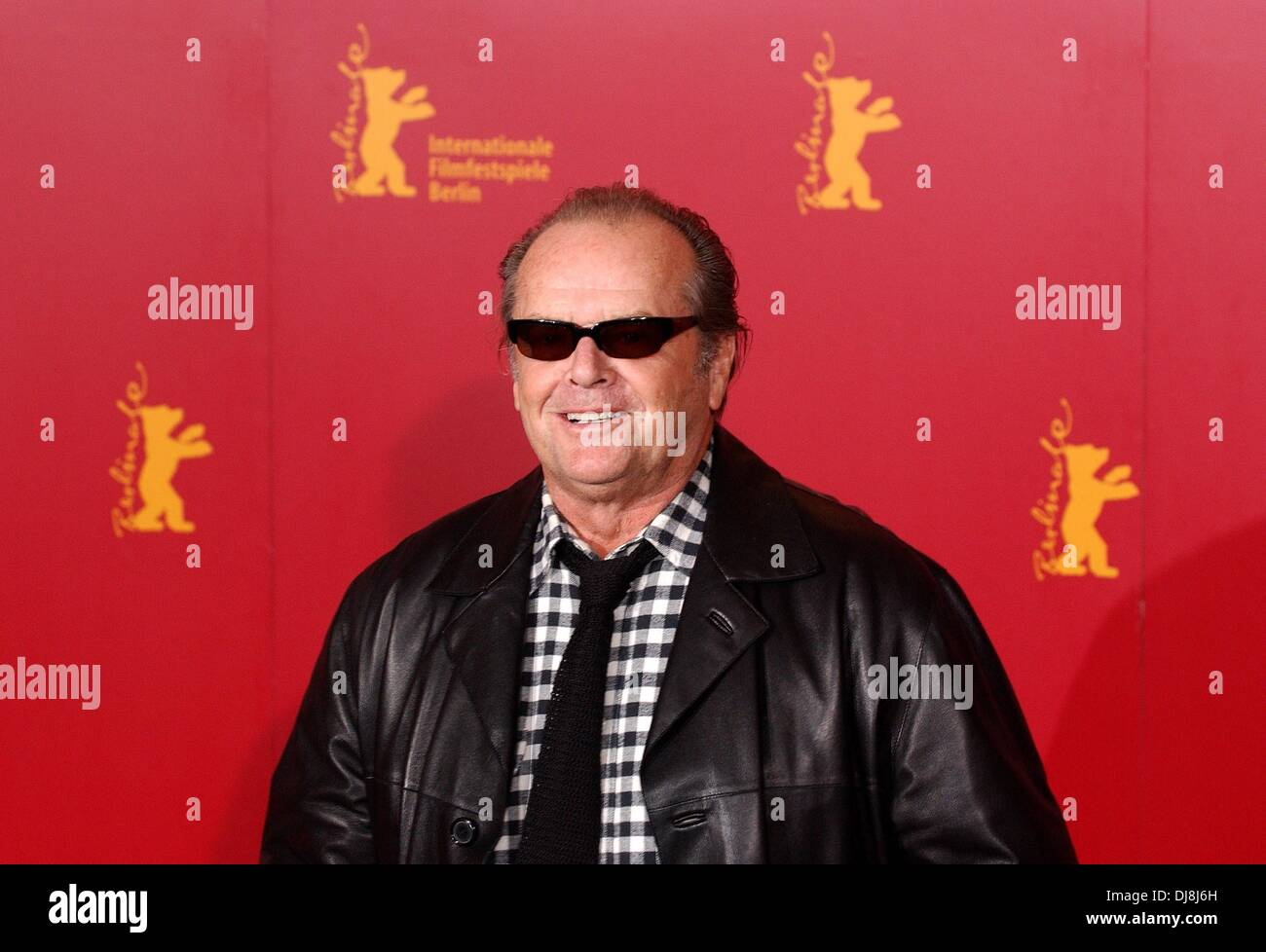 Jack Nicholson at the photocall of 'Something's Gotta Give' during the Berlinale 2004. - Stock Image