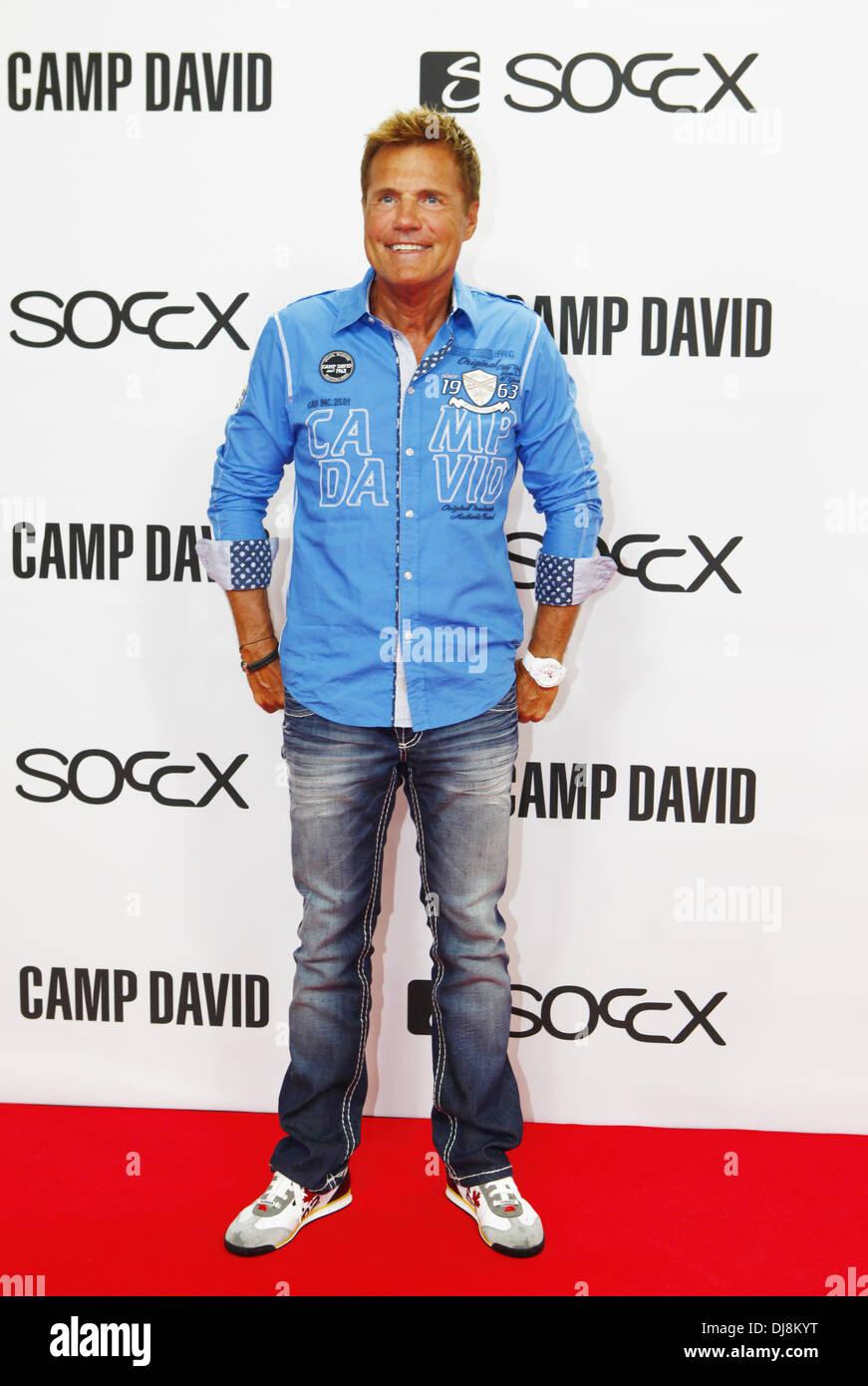best website 74d26 3f2b2 Dieter Bohlen at the Camp David/Soccx fashion show during ...