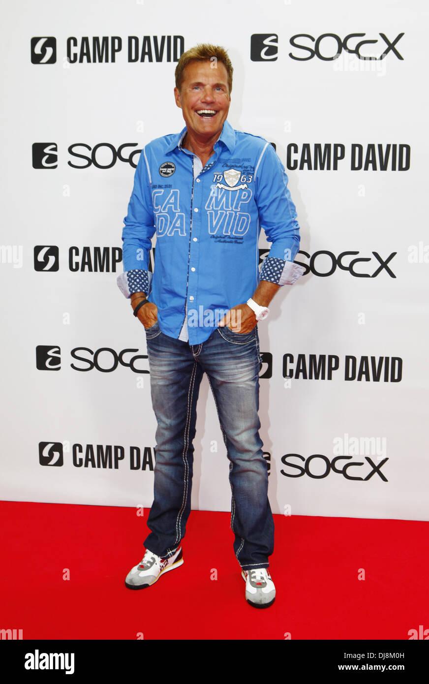 Dieter Bohlen at the Camp DavidSoccx fashion show during