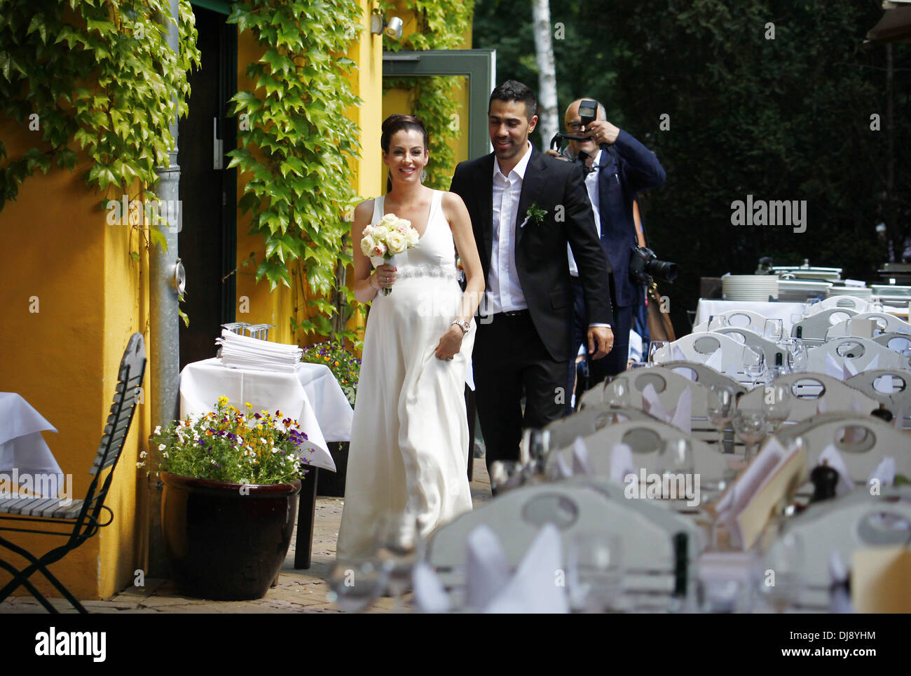 Anna Maria Lagerblom And Bushido Celebrate Their Wedding At Stock