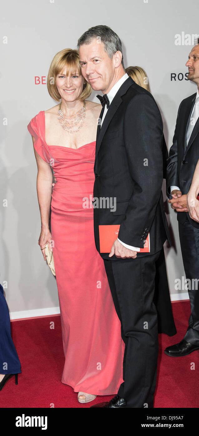 Carol Kloeppel And Peter Kloeppel At Rosenball 2012 Gala In Aid Of