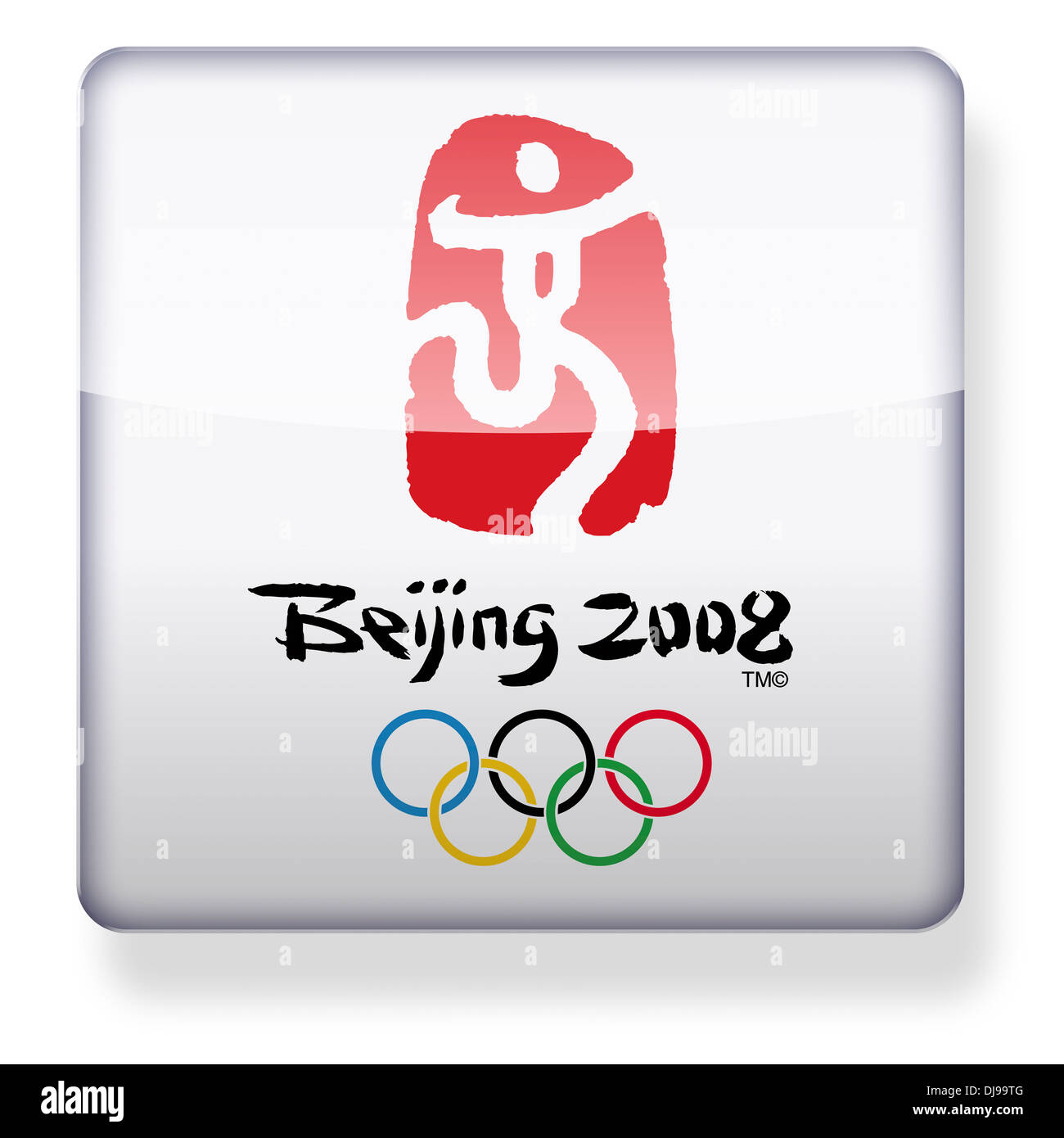 Beijing Olympic Games Logo Stock Photos Beijing Olympic Games Logo