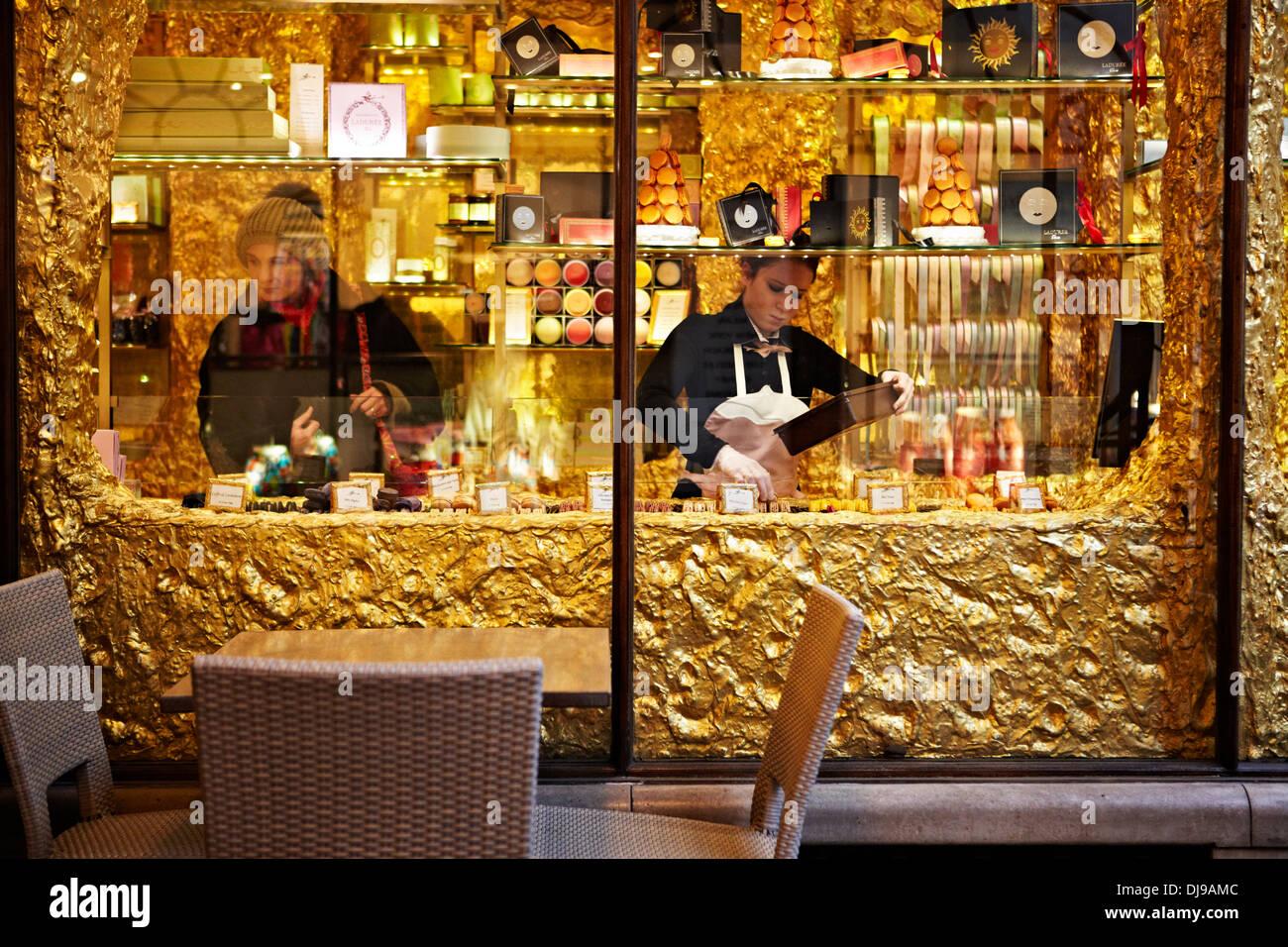 Royal Arcade, London, England, UK,, Christmas, Shopping, Winter Stock Photo