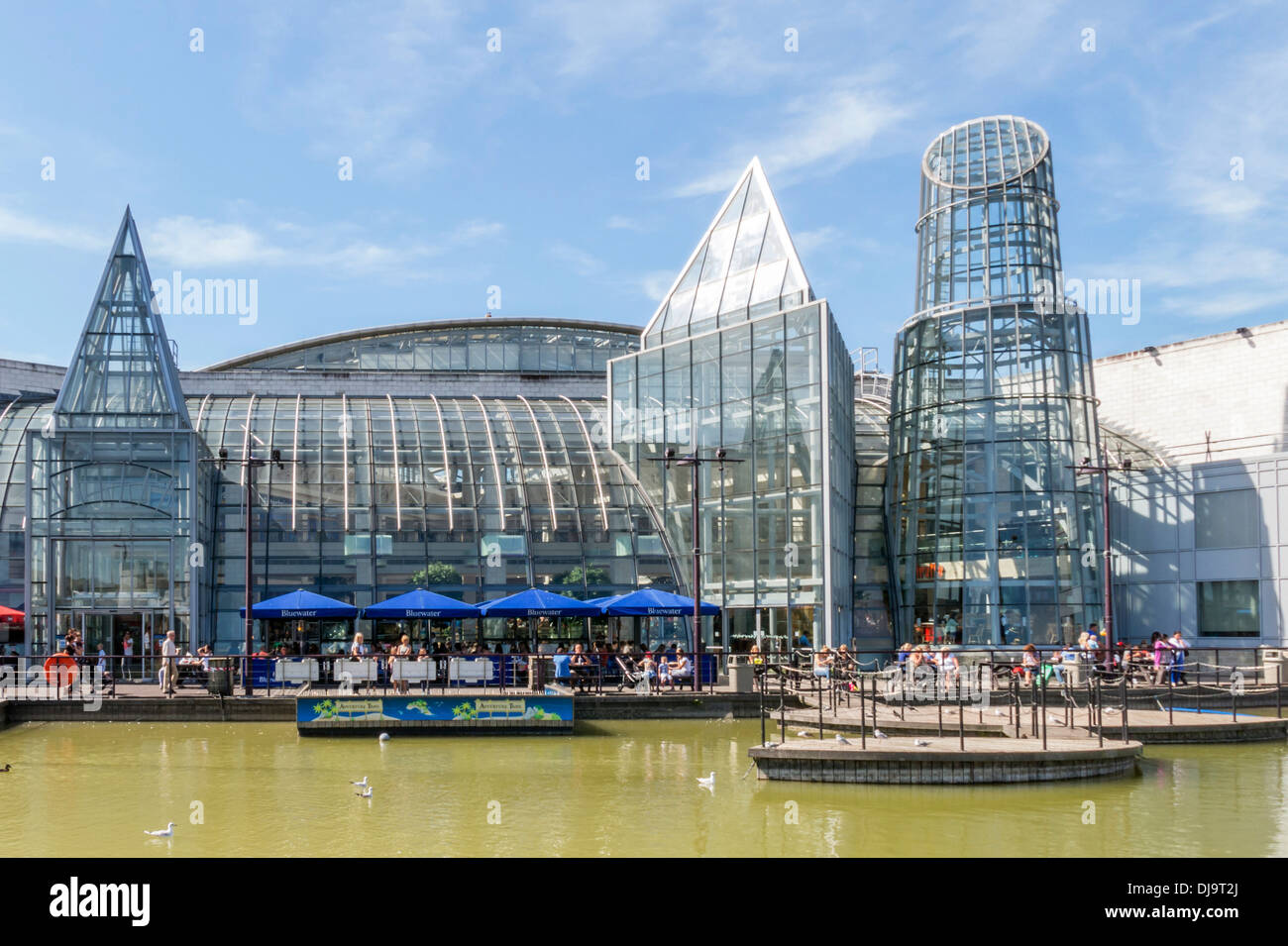 Bluewater Shopping Centre Kent Retail Outlet - Stock Image