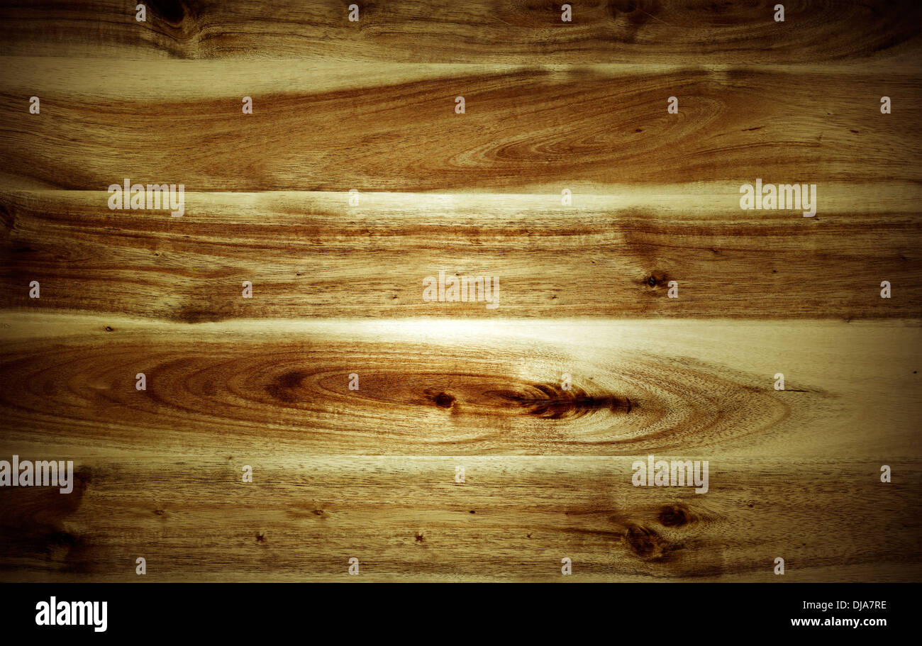 Closeup of wooden planks background - Stock Image