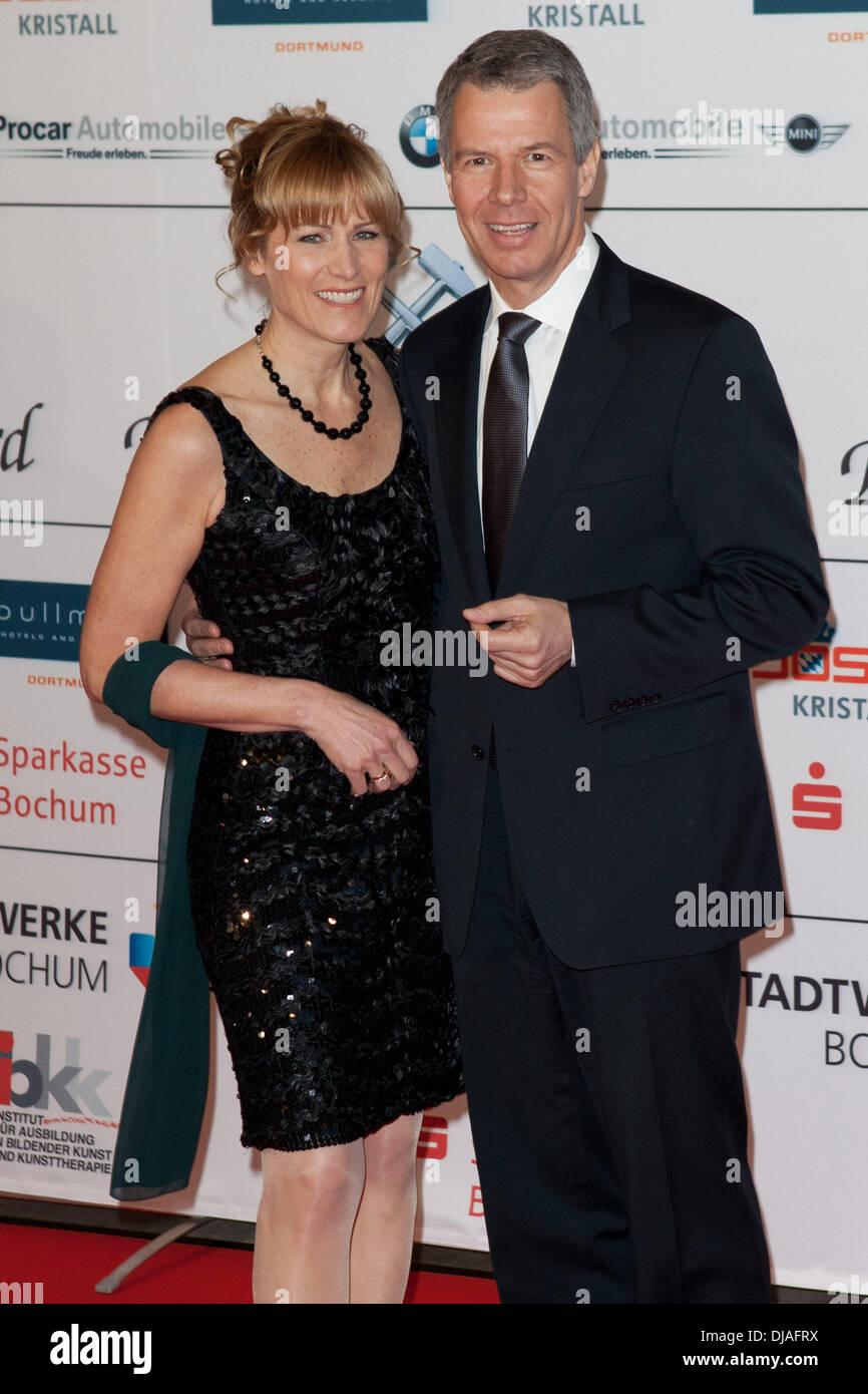 Carol Kloeppel Peter Kloeppel Attending Der Steiger Award 2012 At
