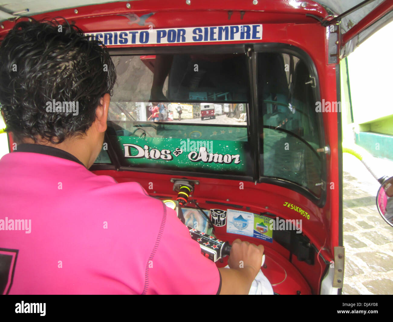 Motor Tricycle Driver Stock Photos & Motor Tricycle Driver