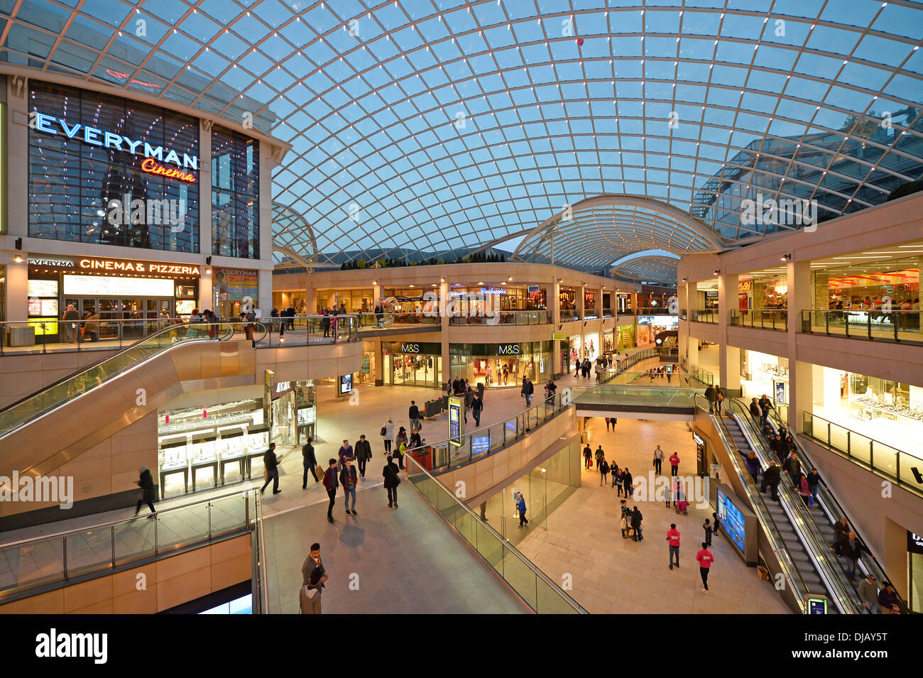 Trinity Leeds Shopping Centre, Leeds, West Yorkshire, England, United Kingdom - Stock Image