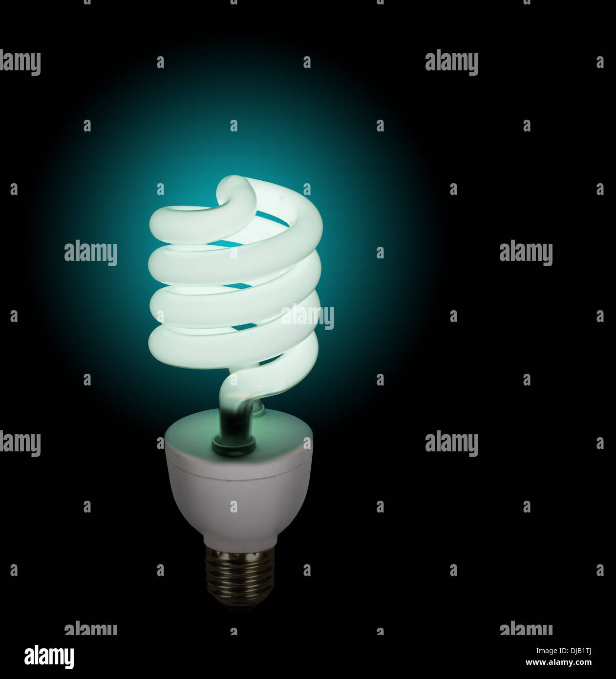 Eco-friendly bulb, lamp background - Stock Image