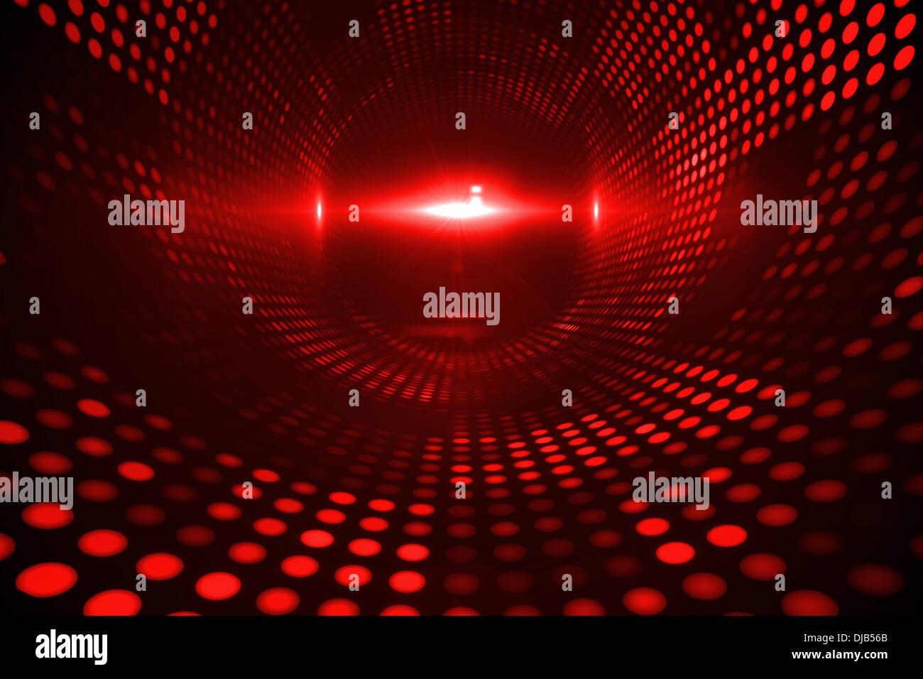 Shiny Red Dots On Black Background Stock Photo 62940483 Alamy