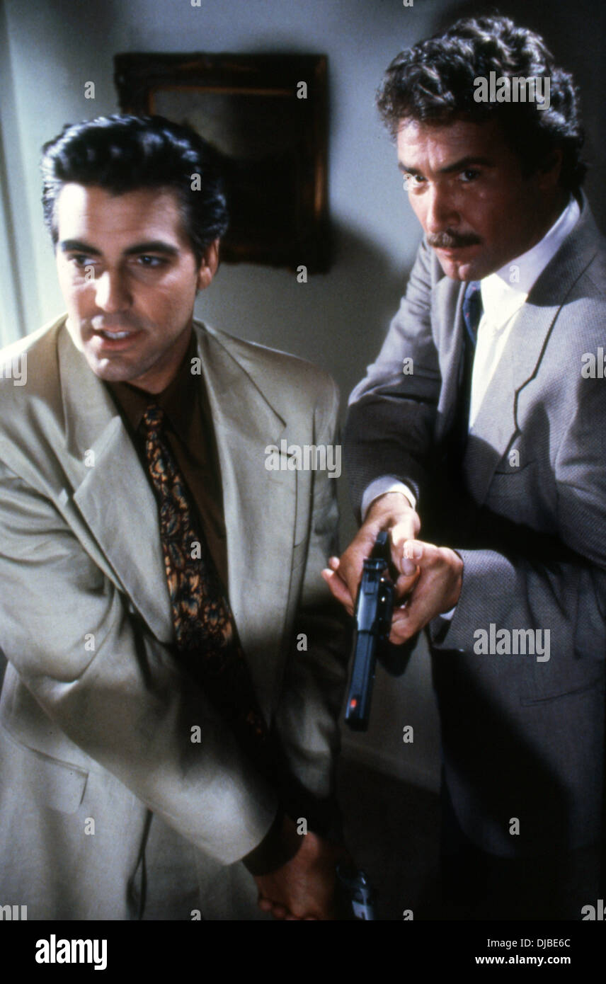 BODIES OF EVIDENCE (TV) (1992-1993) GEORGE CLOONEY, LEE HORSELY, NEAL AHERN (DIR) BOEV 001 MOVIESTORE COLLECTION LTD - Stock Image