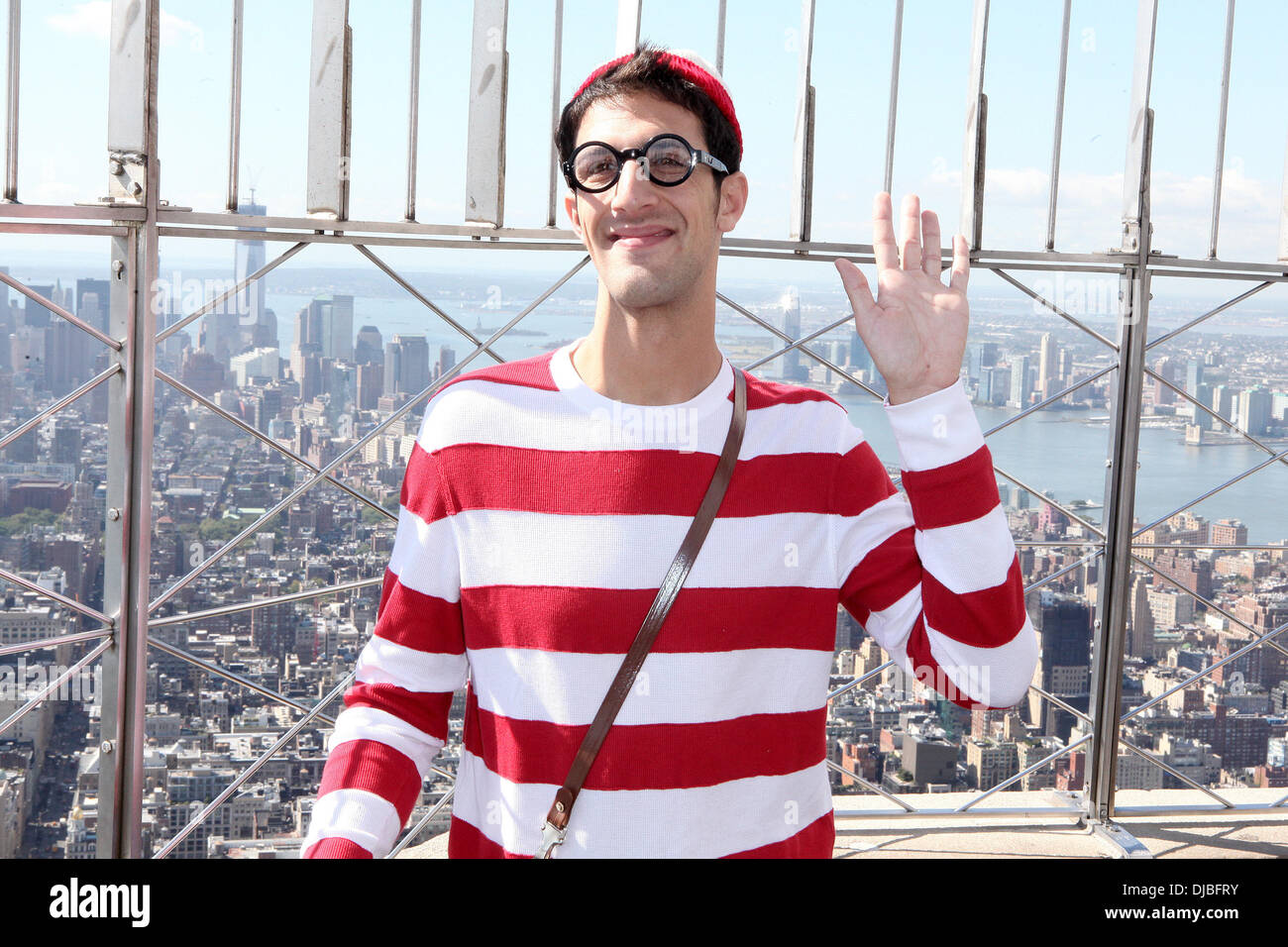 6383d6afa9 Whereu0027s Waldo Character In Costume The Empire State Building Celebrates  The 25th Anniversary Of Whereu0027s Waldo (Whereu0027s Wally )