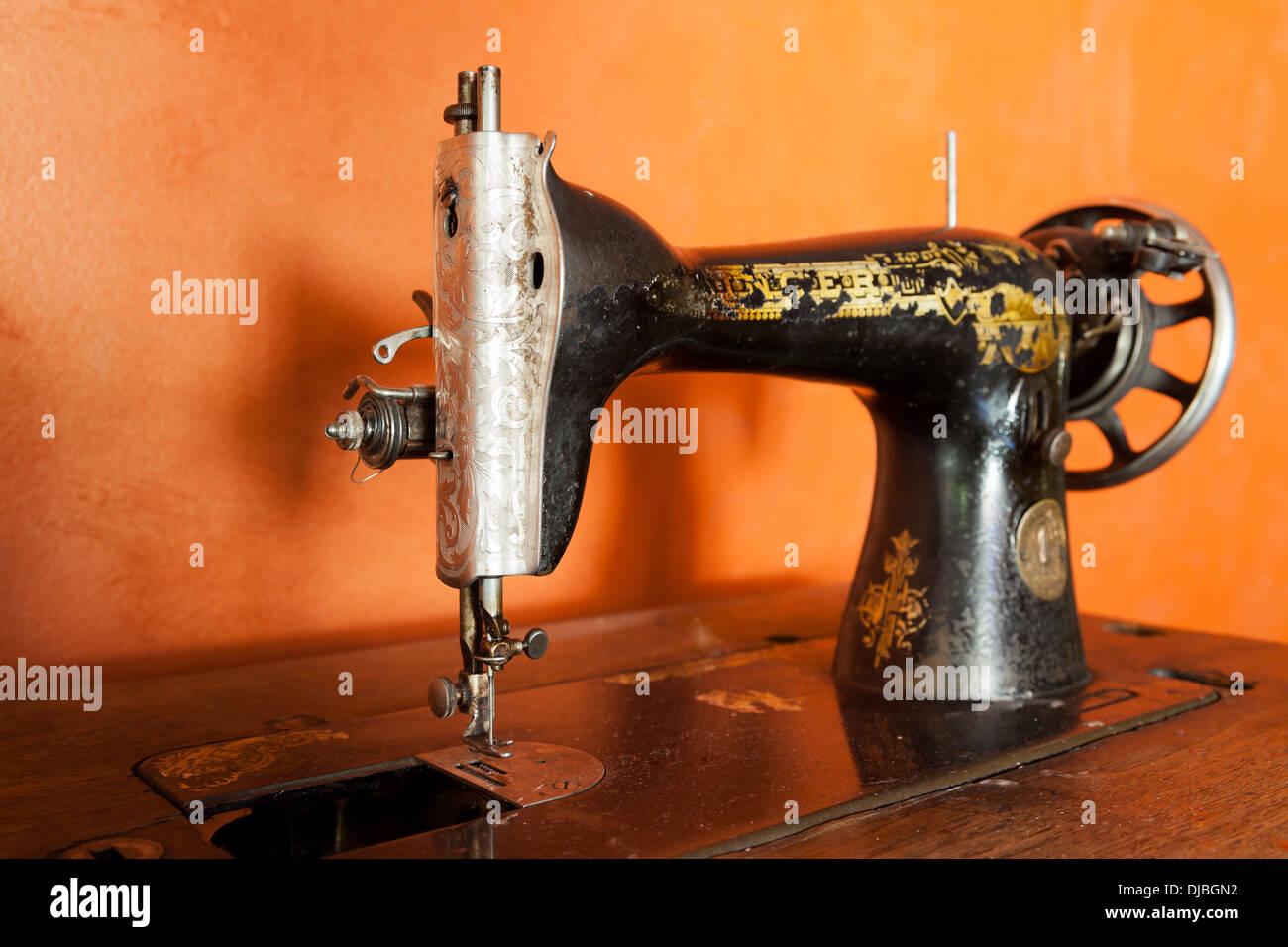 Manual Sewing Machine Stock Photos Manual Sewing Machine Stock