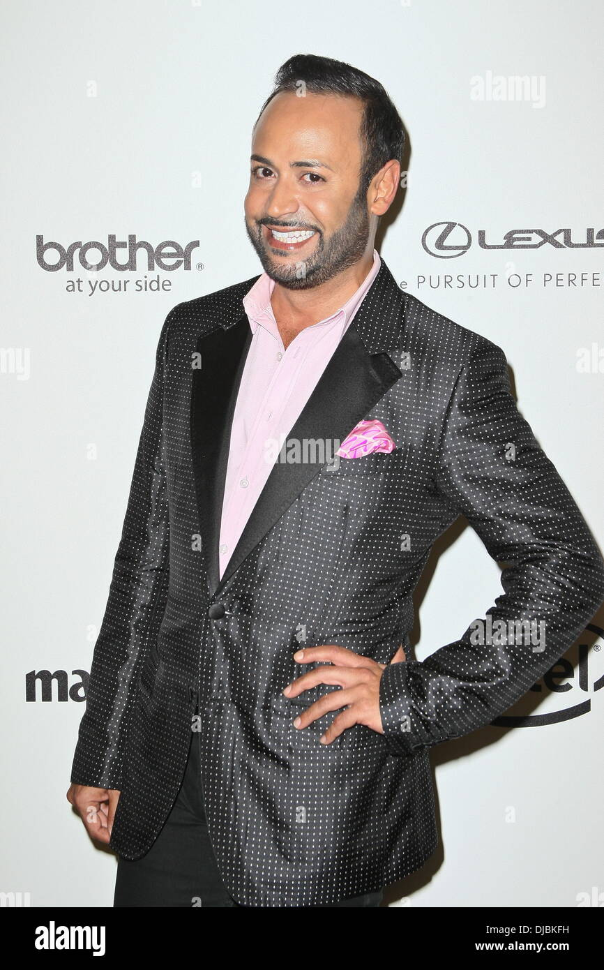 50efb5d597e Nick Verreos Project Runway Season 10 wrap party hosted by Lord   Taylor -  Arrivals New York City