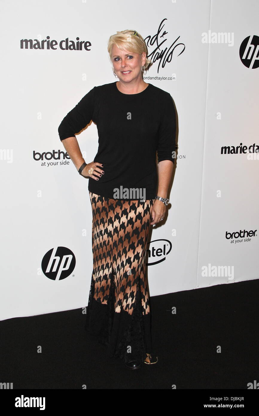 5c4d88e6e3f Peach Carr Project Runway Season 10 wrap party hosted by Lord   Taylor -  Arrivals New York City