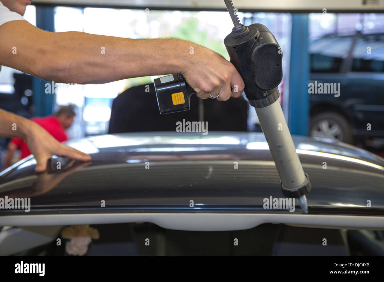 Adhesive Windscreen Stock Photos & Adhesive Windscreen Stock Images ...