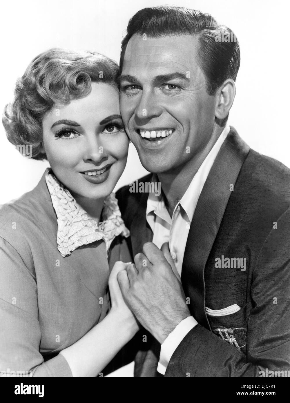 Howard Keel and Kathryn Grayson, Kiss Me Kate, 1953 - Stock Image