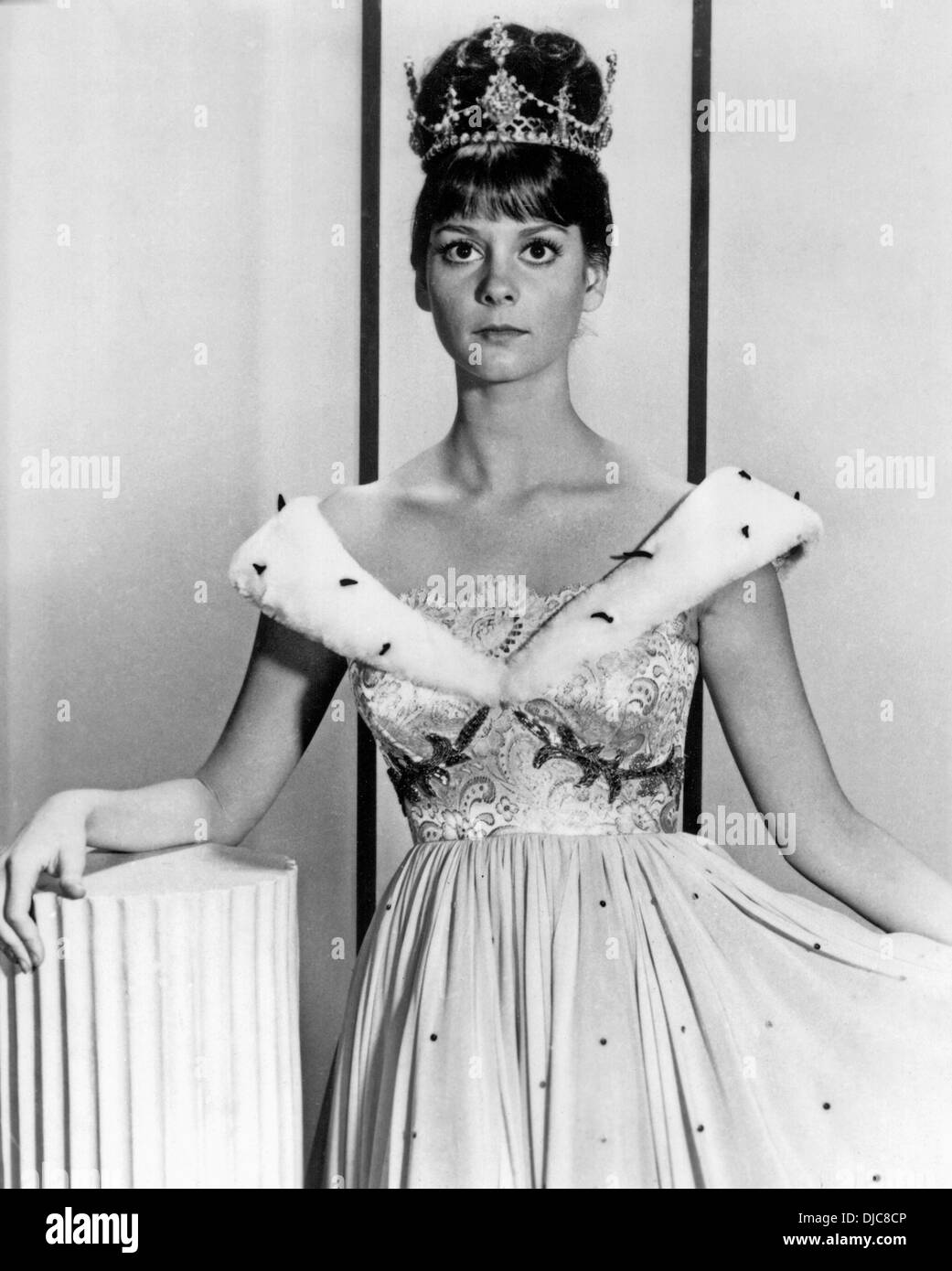 Lesley Ann Warren on-set of the TV Movie, Cinderella, 1965 - Stock Image