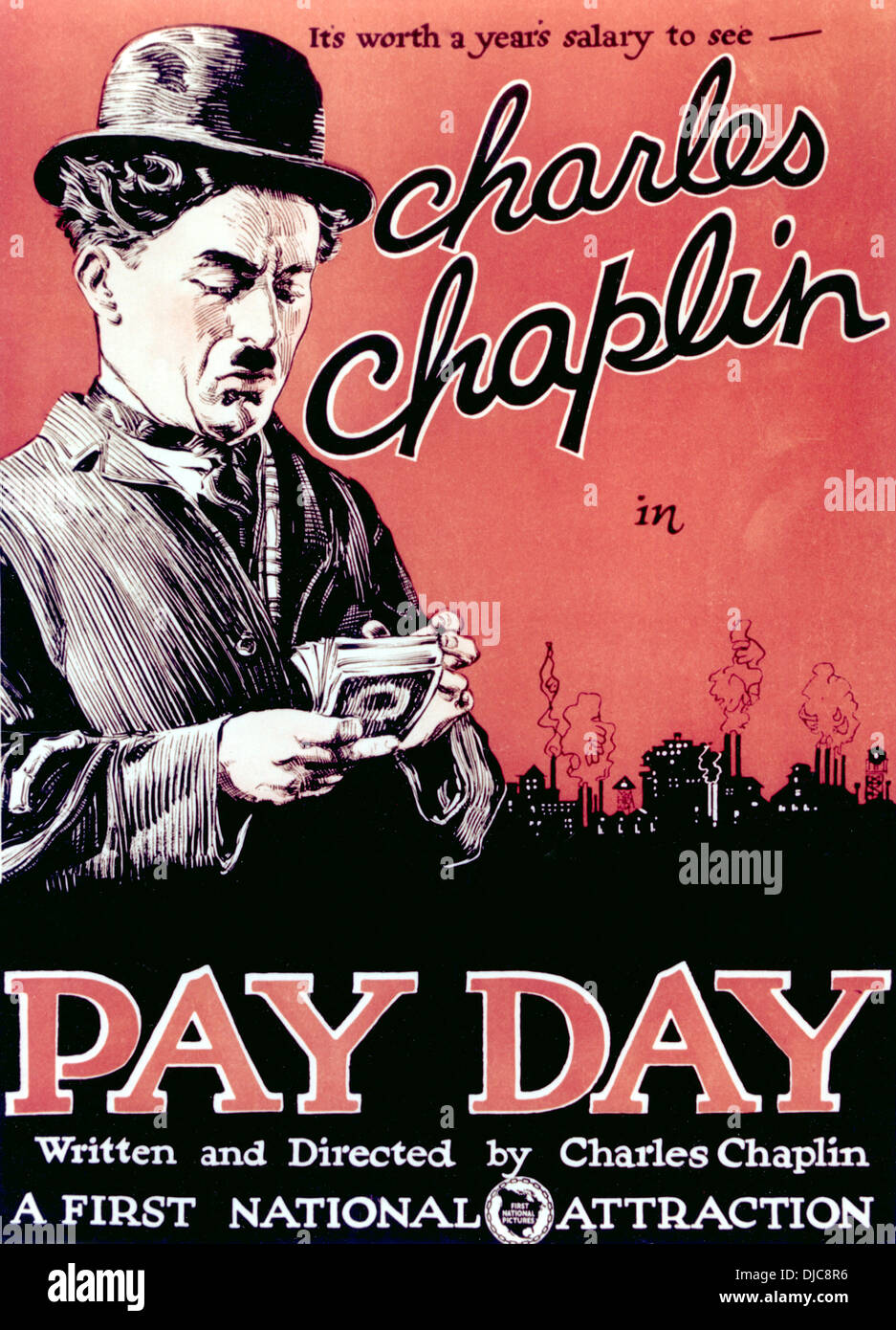 Short Circuit Movie Posters From Poster Shop Charlie Chaplin Stock Photos Pay Day Starring 1922 Image