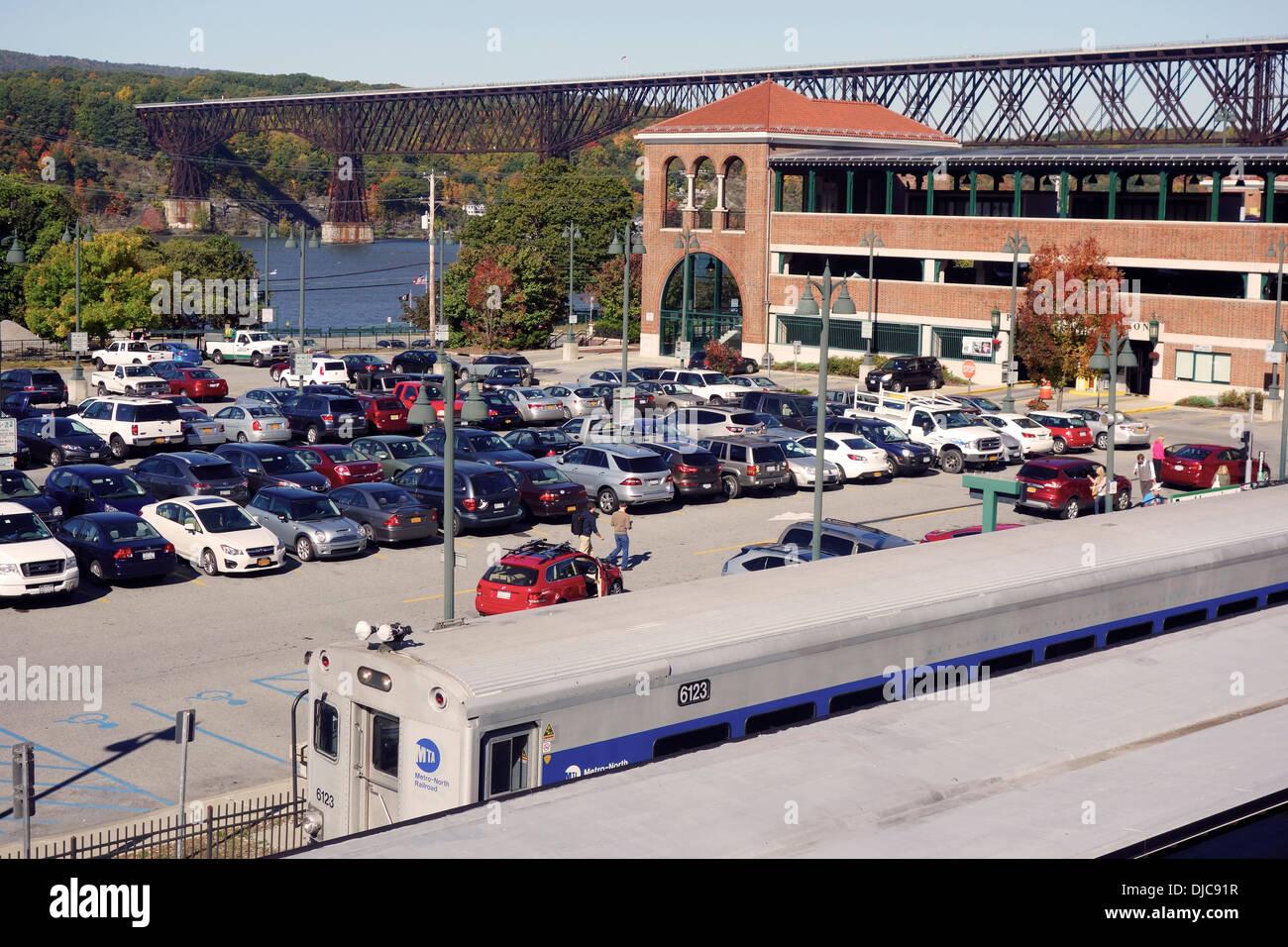 Exterior: Poughkeepsie Train Station Stock Photos & Poughkeepsie