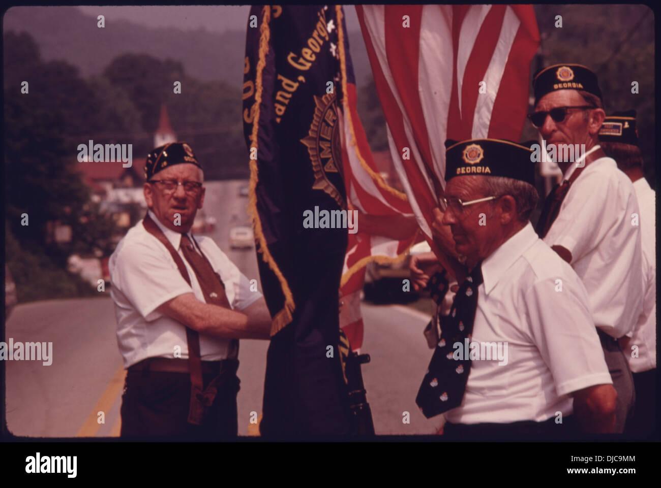 American Legion parade- 706-original - Stock Image