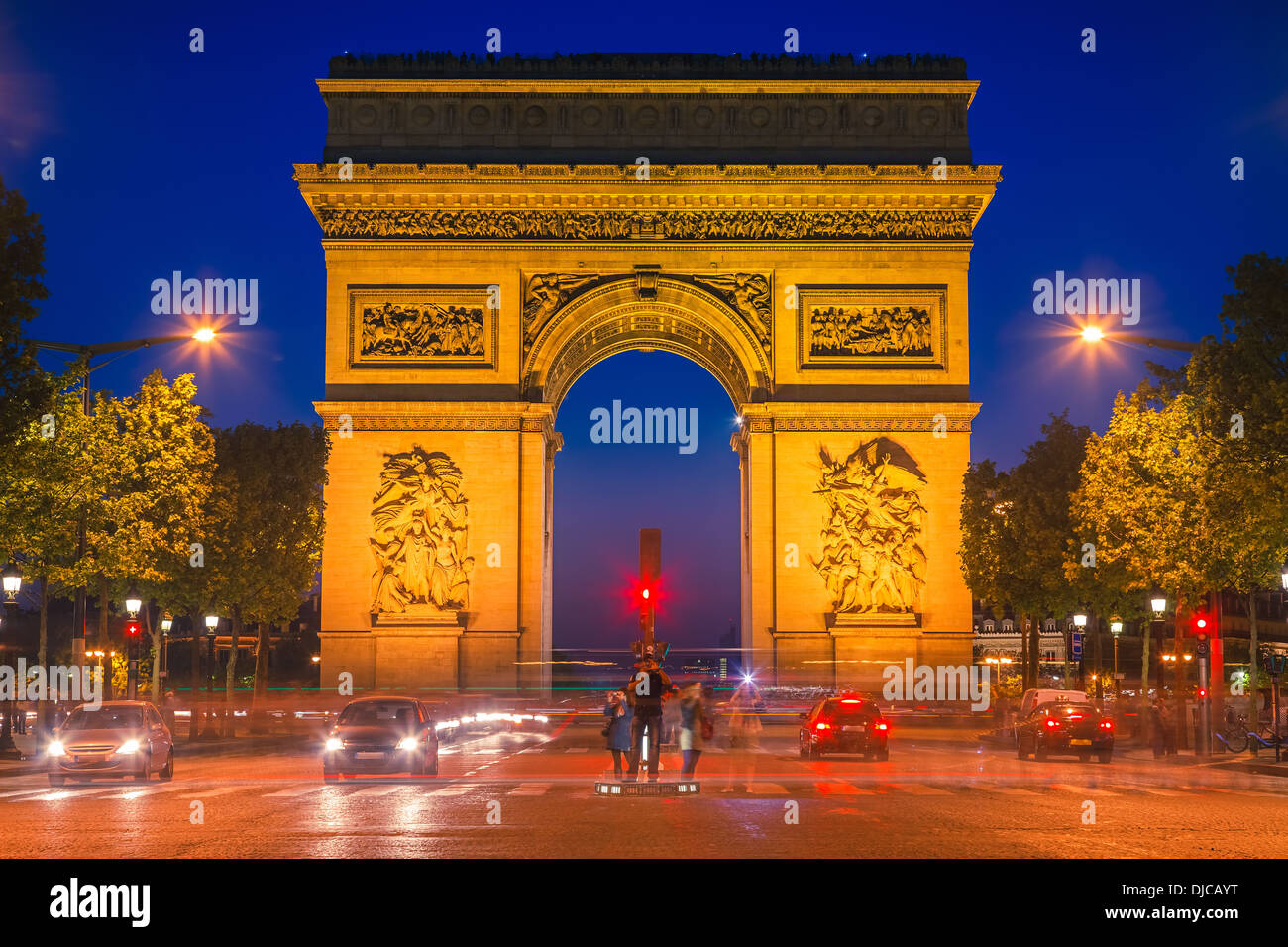 Arc de Triomphe, Paris - Stock Image