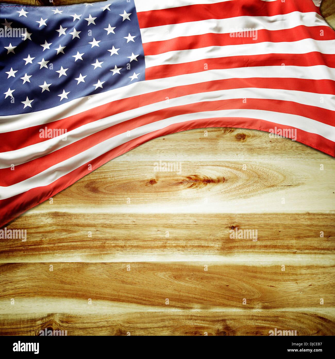 Closeup Ripple American Flag Stock Photos & Closeup Ripple American ...