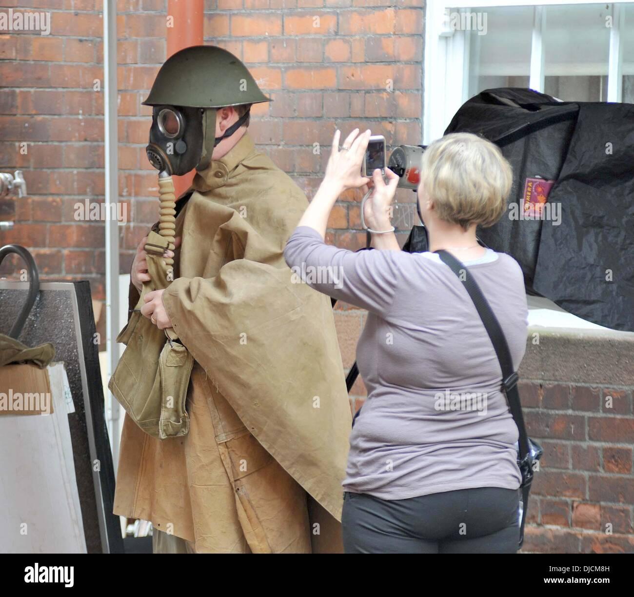 Foyles War Filming Dublin Stock Photos & Foyles War Filming