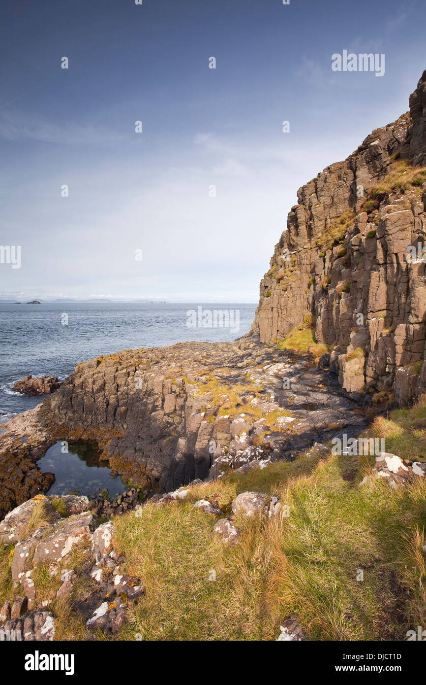 The coastline of the north-west of the Isle of Skye. - Stock Image