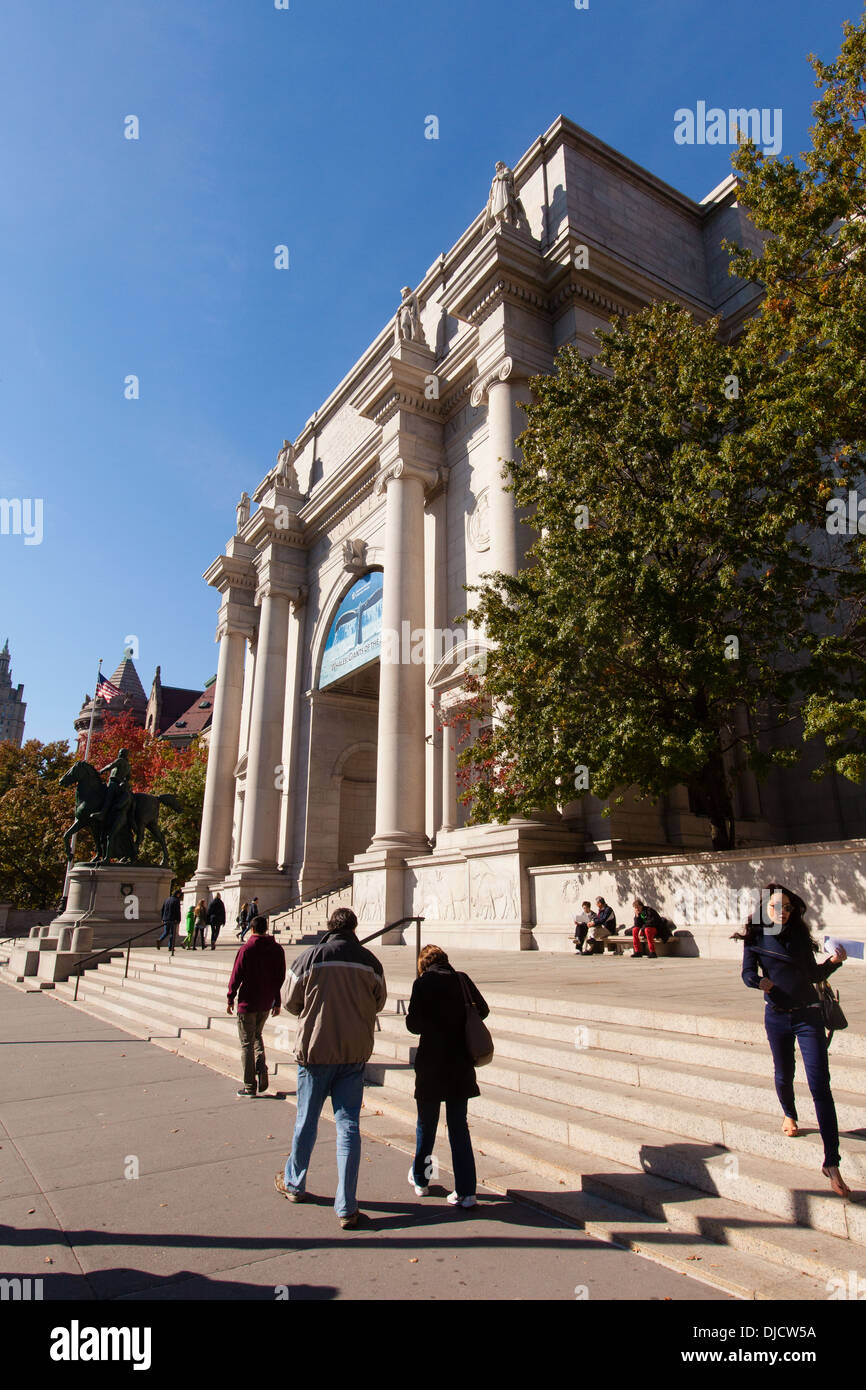 American Museum of Natural History, New York City, United States of America. - Stock Image