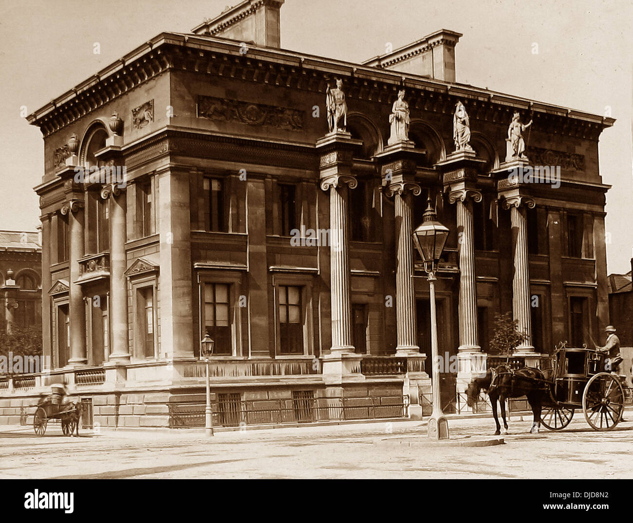 Oxford Taylor Institution Victorian period - Stock Image