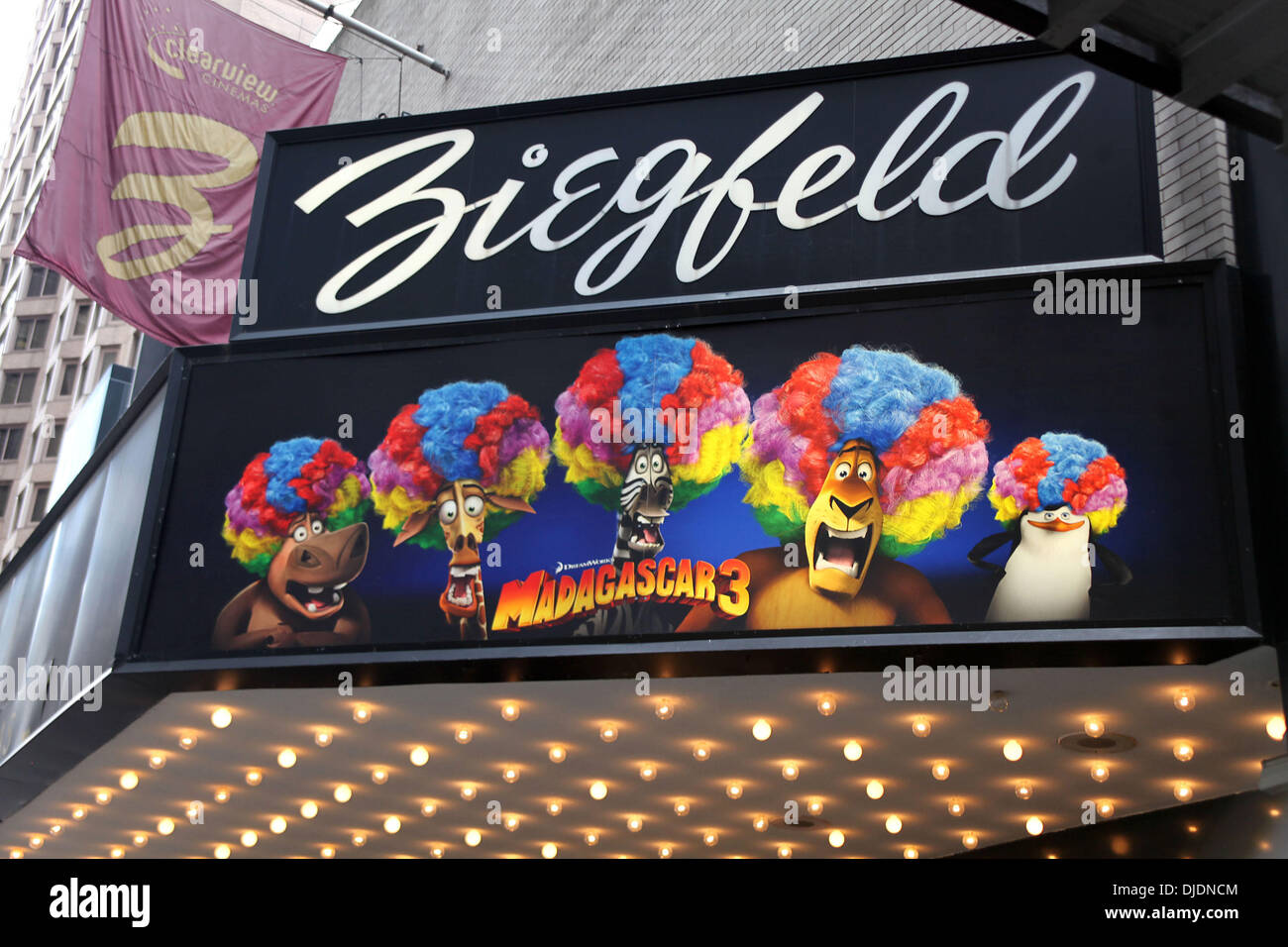 Ziegfeld Marquee High Resolution Stock Photography And Images Alamy