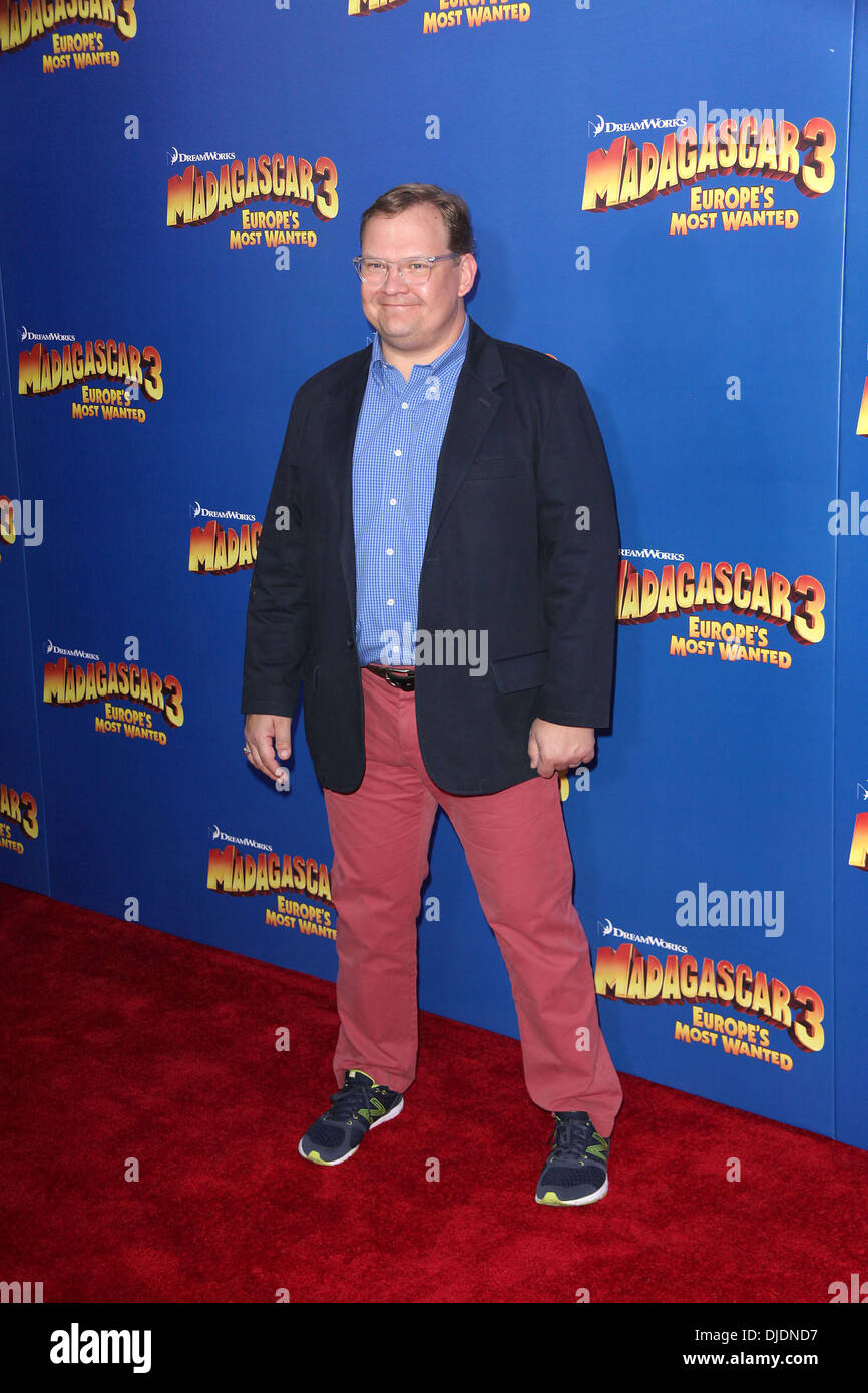 Andy Richter, Mort, New York Premiere of Dreamworks