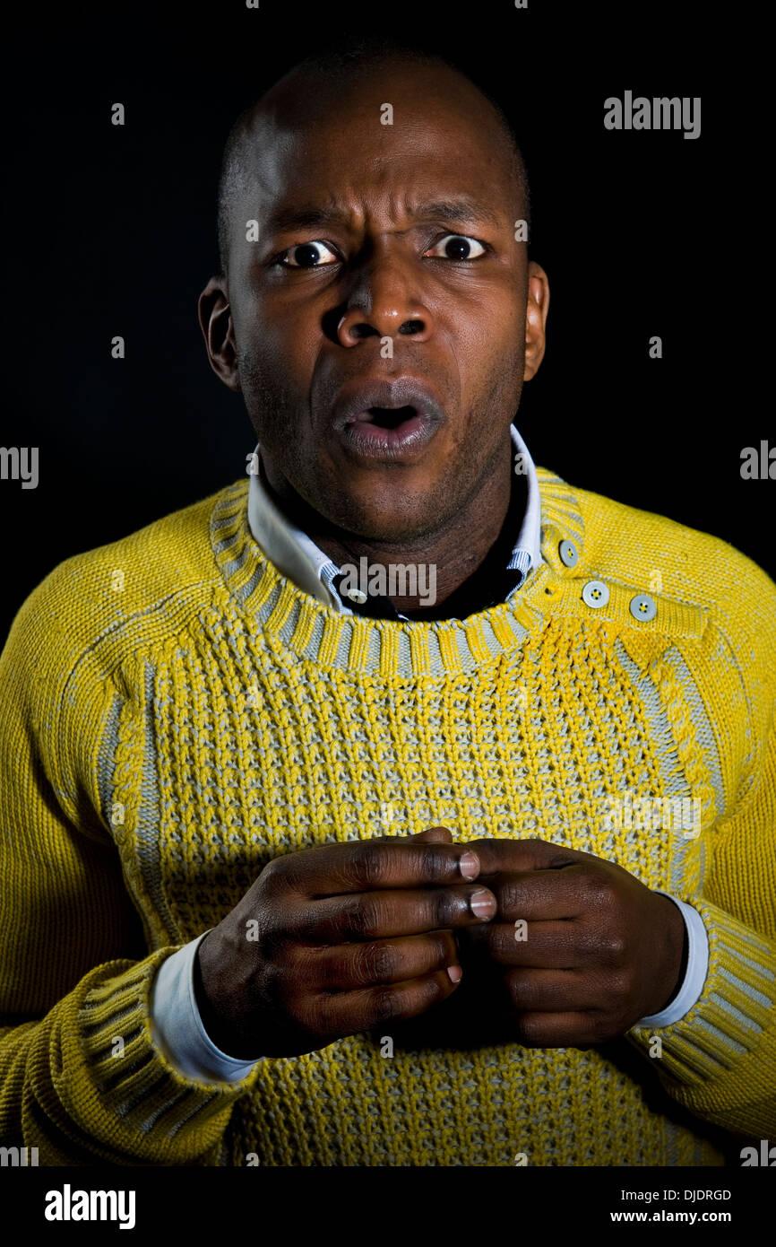 Raymond Bahati actor - Stock Image