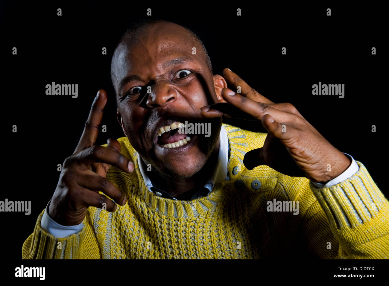 Raymond Bahati actor - Stock Image