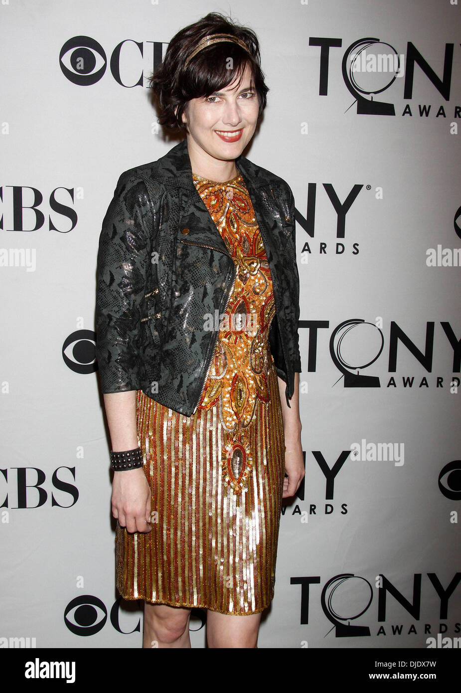 Nora Young The 2012 Tony Eve Cocktail Party held at the InterContinental Times Square Hotel New York City, USA - 09.06.12 - Stock Image